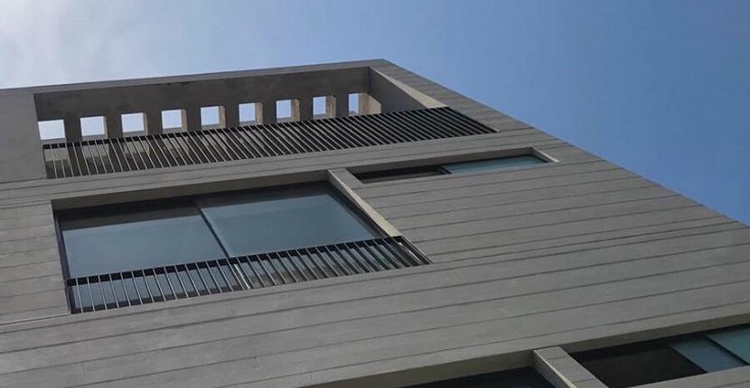 Microcemento en fachadas