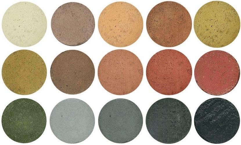Pigmentos hormigón impreso